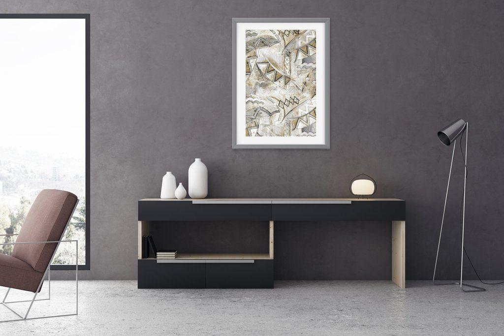 abstract wall art