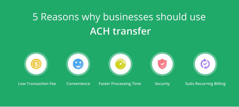 Advantages for ACH Payment Gateway
